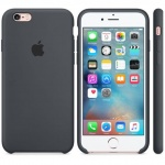 iPhone 6S Silicone Case Charcoal Gray, MKY02ZM/A