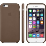 iPhone 6 Plus Leather Case Olive Brown, MGQR2ZM/A