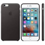 iPhone 6S Plus Leather Case Black, MKXF2ZM/A