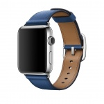 Apple Watch Acc/42/Taupe Blue Classic Buckle, MPX12ZM/A