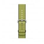 Apple Watch Acc/42/Dark Olive Woven Nylon, MQVQ2ZM/A