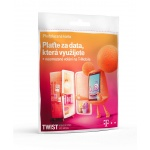 T-Mobile Czech Republic A.s. T-Mobile Plaťte za data která využijete + neomezené volání, 200kč kredit, 700621