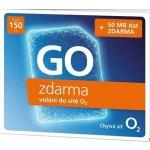 O2 Předplacená karta GO, SMALLGO.150V40