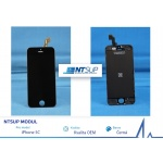 NTSUP LCD modul iPhone 5C černý kvalita B, 38890010