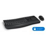 Microsoft Wireless Comfort Desktop 5050 with AES USB Port, CZ&SK, PP4-00019