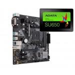 BUNDLE ASUS PRIME B450M-K + SSD 120 GB, 200701780167B