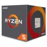 CPU AMD Ryzen 5 1400 4core (3,2GHz) Wraith Stealth, YD1400BBAEBOX