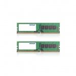 16GB DDR4-2400MHz  Patriot CL17, kit 2x8GB, PSD416G2400K