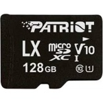 128GB microSDXC Patriot V10, class 10 U1 až 80MB/s + adapter, PSF128GLX1MCX