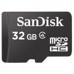 + SanDisk microSDHC 32GB Class4, 104374