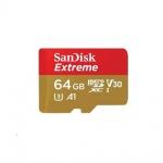 SanDisk Extreme microSDXC 64GB 160MB/s+adaptér, SDSQXA2-064G-GN6AA