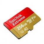 SanDisk Extreme microSDXC 256GB 160MB/s + adaptér, SDSQXA1-256G-GN6MA