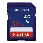 SanDisk SDHC 32GB Class 4, SDSDB-032G-B35