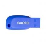 SanDisk Cruzer Blade 64GB USB 2.0 elektricky modrá, SDCZ50C-064G-B35BE