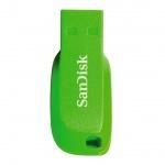 SanDisk Cruzer Blade 64GB USB2.0 elektricky zelená, SDCZ50C-064G-B35GE