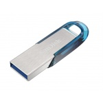 SanDisk Ultra Flair 32GB USB 3.0 tropická modrá, SDCZ73-032G-G46B