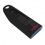 SanDisk Ultra USB 128GB USB 3.0 černá, SDCZ48-128G-U46