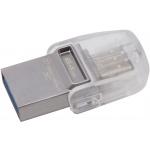 64GB Kingston DT microDuo 3C, USB 3.0/3.1 + Type-C, DTDUO3C/64GB