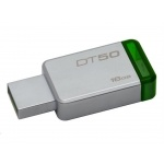 16GB Kingston USB 3.0 DT50 kovová zelená, DT50/16GB