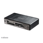 AKASA čtečka karet USB 3.0, AK-CR-06BK