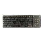 EVOLVEO WK27BG bezdrátová klávesnice s touchpadem, WK27BG
