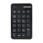 EVOLVEO WN160, bezdrátová numerická klávesnice, WN160