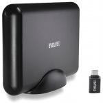 """EVOLVEO 3.5"""" Tiny 5, 10Gb/s, externí rámeček na HDD, USB 3.1 A + redukce USB 3.1 A/USB C, TINY5"""