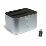 EVOLVEO Dion 2, 10Gb/s, dokovací stanice, USB 3.1 A + redukce USB A/USB C, DION2