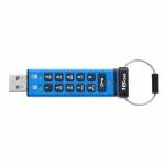 16GB Kingston USB 3.0 DT2000 256bit AES HW šifrování, keypad, DT2000/16GB