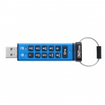 32GB Kingston USB 3.0 DT2000 256bit AES HW šifrování, keypad, DT2000/32GB