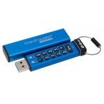 64GB Kingston USB 3.0 DT2000 HW šifrování, keypad, DT2000/64GB