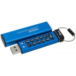 4GB Kingston USB 3.0 DT2000 HW šifrování, keypad, DT2000/4GB