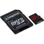 512GB microSDXC Kingston U3 100R/80W s adapt., SDCR/512GB
