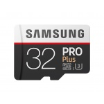 Samsung micro SDHC 32GB PRO Plus + SD adaptér, MB-MD32GA/EU