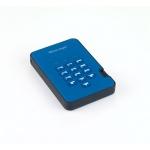 Istorage diskAshur2 256-bit 1TB - Blue, IS-DA2-256-1000-BE