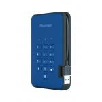 Istorage diskAshur2 256-bit 2TB - Blue, IS-DA2-256-2000-BE