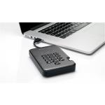 Istorage diskAshur Pro2 SSD 256-bit 128GB, IS-DAP2-256-SSD-128