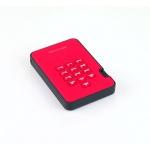 Istorage diskAshur2 SSD 256-bit 128GB - Red, IS-DA2-256-SSD-128-R