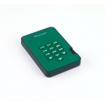 Istorage diskAshur2 256-bit 5TB - Green, IS-DA2-256-5000-GN