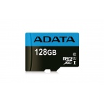 ADATA MicroSDXC 128GB UHS-I Class 10 85/25MB/s, AUSDX128GUICL10 85-R