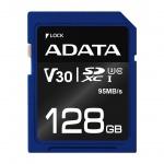 ADATA SDXC 128GB UHS-I U3 V30S 95/60MB/s, ASDX128GUI3V30S-R