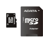 ADATA 8GB MicroSDHC Card with Adaptor Class 4, AUSDH8GCL4-RA1