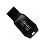 ADATA USB UV100  8GB black, AUV100-8G-RBK