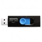 ADATA USB UV320 64GB black/blue (USB 3.0), AUV320-64G-RBKBL