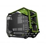 skříň In Win D-FRAME 2.0 black/green + 1065W zdroj, D-FRAME 2.0 (Green)