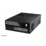 skříň AKASA Crypto X1 + 200W zdroj (bez loga), A-ITX11-M1B20