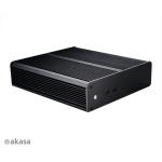 skříň AKASA Euler M + 80W adaptér (pasiv) bez loga, A-ITX19-M1B08EU