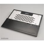 AKASA - Echo - NB podložka - 2 x 7 cm fan, AK-NBC-29BK