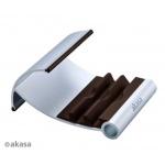 AKASA - Leo - stojan pro tablet - hnědý, AK-NC054-BR