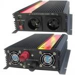 Měnič napětí Carspa CAR1.6KU-12, 12V/230V+USB 1600W modifikovaná sinus, CAR1.6KU-12